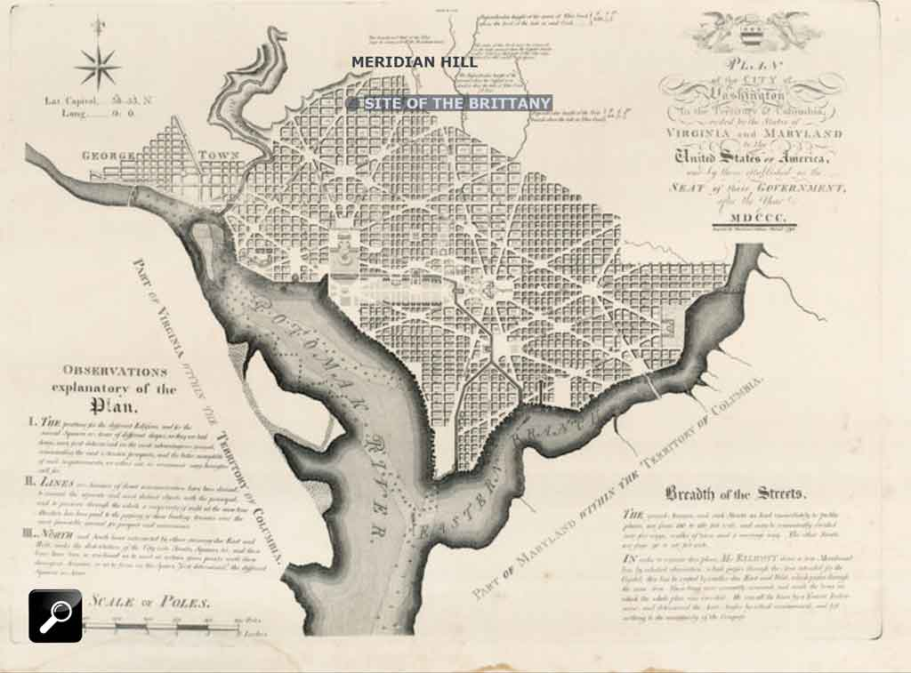 James Thackara 1792 Map of Washington